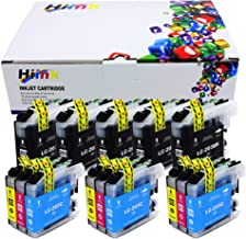 HIINK Compatible Ink Cartridge for Brother LC203 LC201 LC203XL use with MFC-J460DW MFC-J480DW MFC-J485DW MFC-J680DW MFC-J880DW MFC-J885DW(5BK, 3C, 3M,3Y, 14-Pack)
