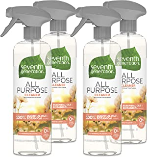 Sponsored Ad - Seventh Generation All Purpose Cleaner, Fresh Morning Meadow Scent, 23 oz, 4 Pack