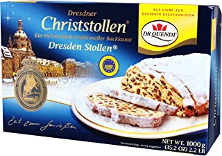 Dr Quendt Stollen Christmas Cake in Gift Box 1000g