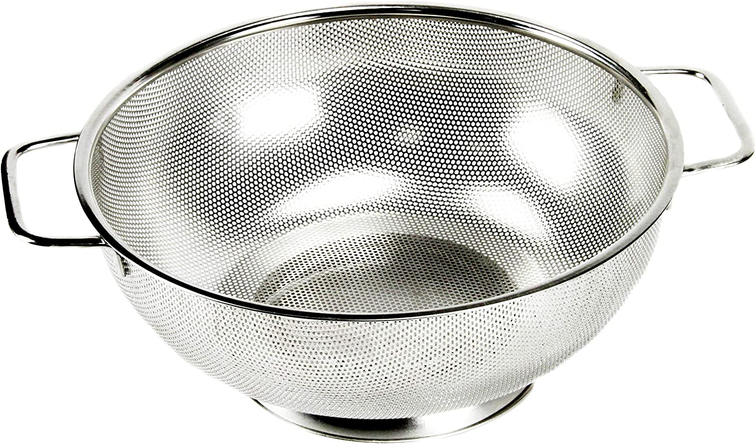 Chef Craft Cheap Select Microperforated Colander quart S Free shipping Stainless 5