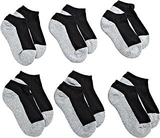 Jefferies Socks Boys' Seamless Sport Low Cut Half Cushion Socks (Pack of 6)