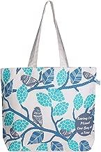EcoRight 100% Canvas Cotton Tote Bag Beige Size: Large