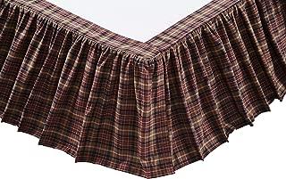 VHC Brands Abilene Star 19968 Bed Skirt, Queen