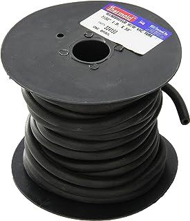HBD 3341 Vacuum Hose, Black, 7/32' x 50'