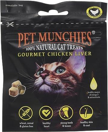 Pet Munchies Gourmet Chicken Liver Cat Treats, 10 g