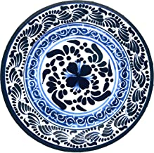 Paper Plates Mexican Design Talavera Design Mexico Themed Party Fiesta, 40-Pack
