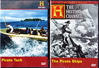The History Channel : The Pirate Ships , Pirate Tech The History Of Pirates : 2 Pack Collection