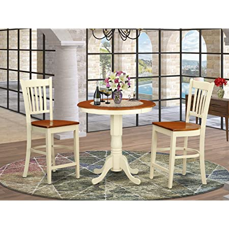 5 Pc Counter Height Dining Set High Table And 4 Kitchen Chairs Furniture Decor