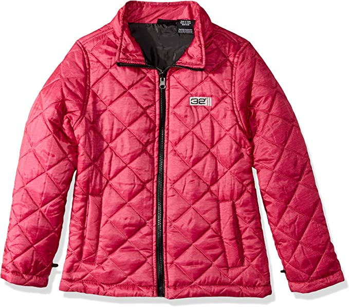 More Styles Available 32 DEGREES girls 32 Degrees Girls Outerwear Jacket