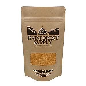 Rainforest Supply | Organic Rosehips Powder 5 oz