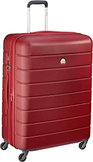 Delsey Paris 00387082104H9 Children's Hardside Luggage, Red, 76 Centimeters