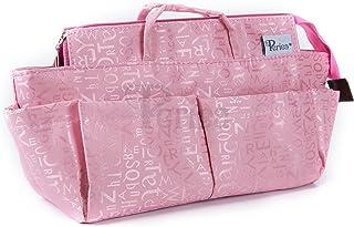 Periea Handbag Organiser, 13 Compartments - Keriea (Pink)