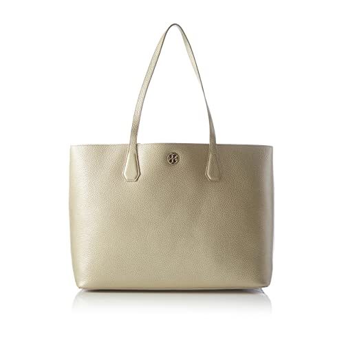 bc521361240 Tory Burch Metallic Perry Leather Soft Gold Tote