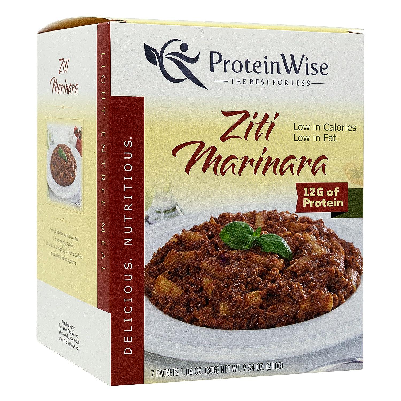 ProteinWise Protein 5% OFF Pasta Ziti Marinara Light Entree Brand new Prot High