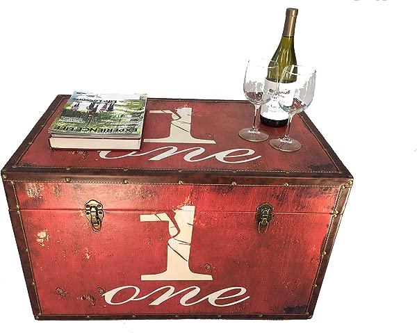 时尚购物派拉蒙大号木质收纳后备箱木质百宝箱