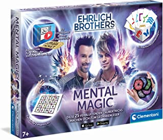 Clementoni 59182 Ehrlich Brothers Mental Box for Children Aged 7, Instructions for Amazing Magic Tricks, Includes 3D Expla...