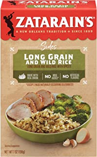 Zatarain's Long Grain and Wild Rice, 7 oz (Pack of 12)