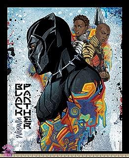 Pre-Order Marvel Black Panther Wakanda Panel Cotton Fabric July Shipment