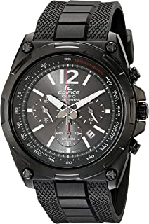 Men's EFR-545SBPB-1BVCF Edifice Tough Solar Black Watch