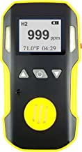 HYDROGEN H2 Gas Detector, Meter & Analyzer by FORENSICS | Professional Series | Water, Dust & Explosion Proof | USB Recharge | Sound, Light and Vibration Alarms | 0-1000 ppm |