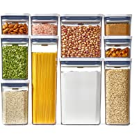 10-Pieces POXO Pop Food Storage Container Set