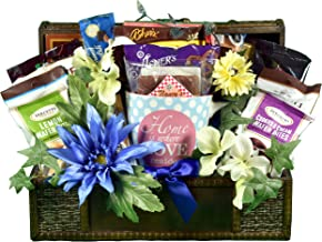 Where The Heart Is, A Housewarming Gift Basket To Welcome Neighbors or Celebrate The Excitement Of A New Home With Friends Or Family, 6 lb