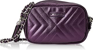 Zeneve London Womens Crossbody Bag, Purple - 1191830572