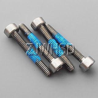 4pcs M6 x 20 Titanium Ti Screw Bolt hex Socket Cap head Aerospace Grade  PVCA