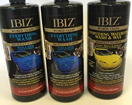 IBIZ (2 Everything Car Wash and (1) Everything Waterless Wash and Wax