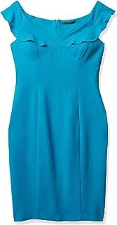 Black Halo Women's Emilia Vneck Off Shoulder Dress