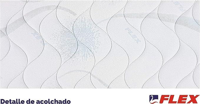 FLEX Colchón muelles continuos Habana, 150 x 190 cm