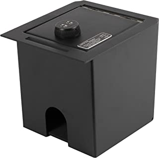 Lock'er Down Console Safe with 4 Digit Combo, Keep Personal Items Secure and Organized in Truck, Compatible With 2006 - 2019 Toyota Tacoma
