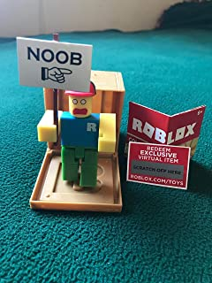 ROBLOX Series 1 Classic Noob action Figure mystery box + Virtual Item Code 2.5