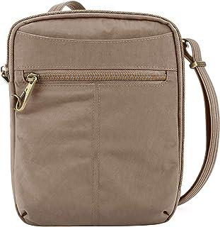 Travelon Anti-Theft Signature Slim Day Bag, Sable, One Size