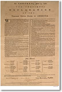 Best declaration of independence poster Reviews