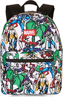 Marvel Comics Print All-Over 16inch Backpack