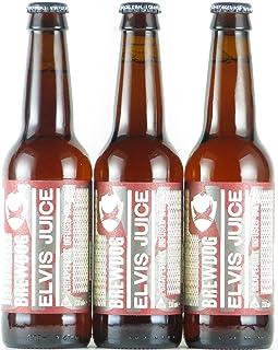 ブリュードッグ エルビスジュース グレープフルーツIPA 瓶 330ml×3本 クラフトビール