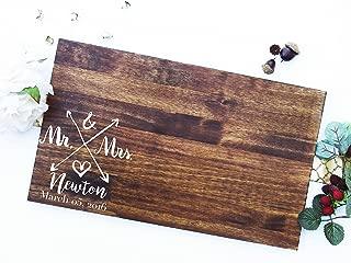 Wedding Guest Signing Board, a unique Wedding Guest Book Alternative & Wedding Keepsake. Sign #14