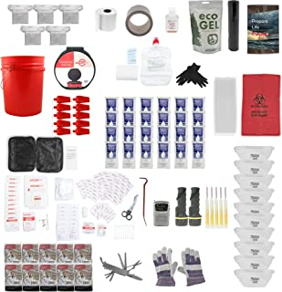 Emergency Zone Office Survival Kit. Keep Your Employees Safe. 10, 20, and 100 Person Available. Sanitation, Food, Water, Light, Communication, Shelter, Warmth.