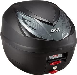 GIVI (ジビ) リアボックス 25L 未塗装ブラック スモークレンズ スリムタイプ モノロック E250 WILDCATシリーズ E250N2 90596