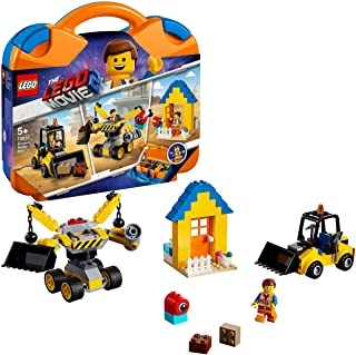 LEGO 70832 THE LEGO® MOVIE 2™ Emmet's Builder Box Building Kit, Colourful