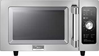 Midea 1025F0A Stainless Steel Countertop Commercial Microwav