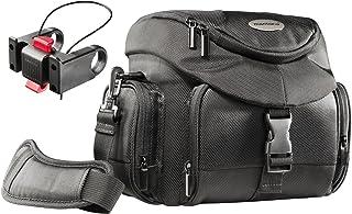 Mantona Premium Biker torba na aparat SLR (w zestawie adapter na kierownicę Klickfix, szybki dostęp, pasek na ramię, pokro...