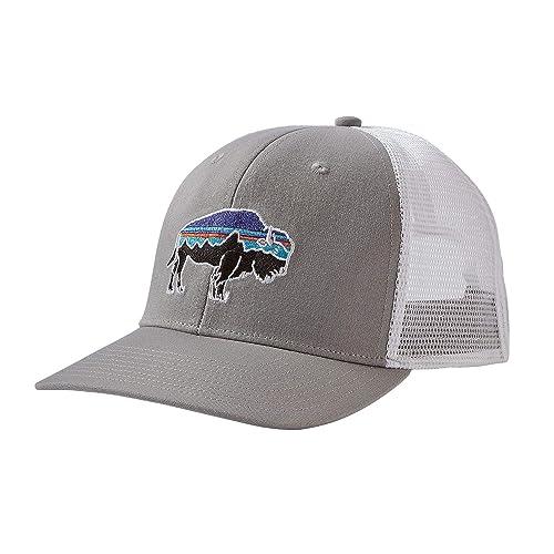 1e4598cbaa4 Patagonia Mens Fitz Roy Bison Trucker Hat
