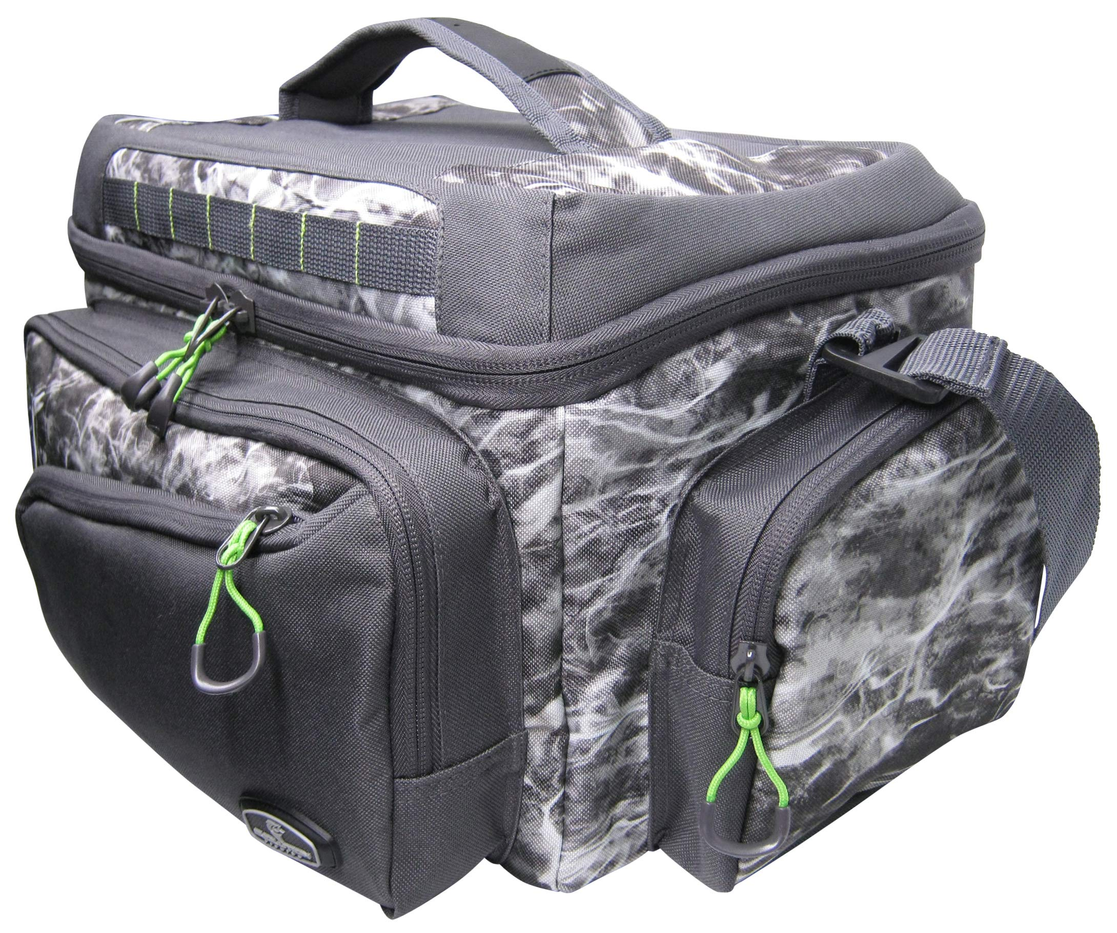 Mossy Oak Rebel Heavy Duty Angler /'Tackle Sac Matériel De Pêche comprend 3 Boîtes Camo