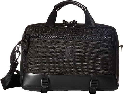 Ballistic Black/Black Leather