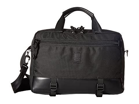 Designs Black Topo Commuter Ballistic Leather Black Briefcase Uv60wZq8