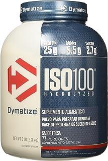 Dymatize Nutrition ISO 100, Whey Protein Powder, Gourmet Berry, 5 Pound
