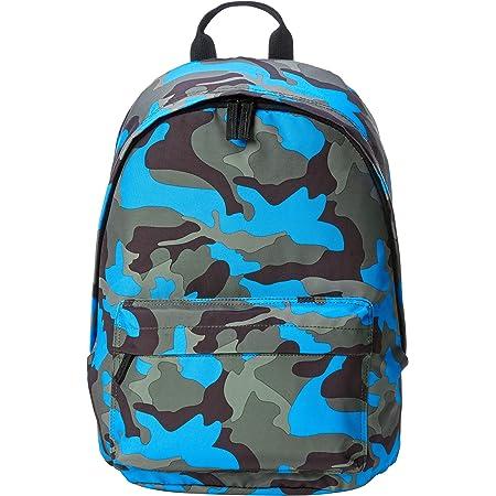 Amazon Basics School Laptop Backpack - Blue Camouflage