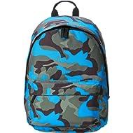 AmazonBasics Everyday School Laptop Backpack - Blue Camouflage